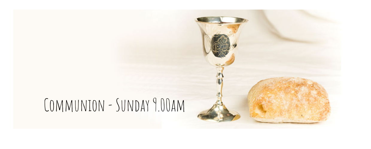 Communion 9.00am